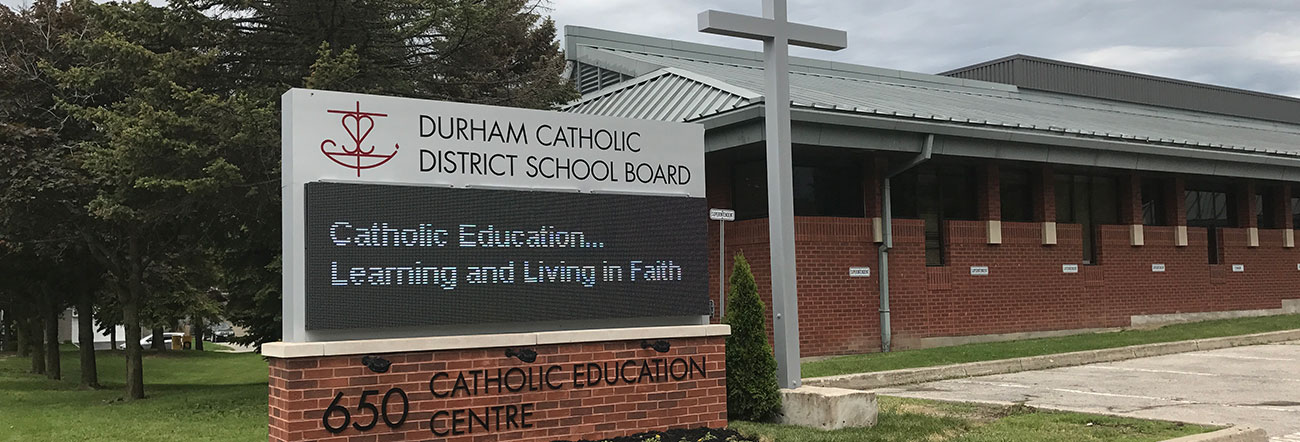 Image result for durham catholic district school board