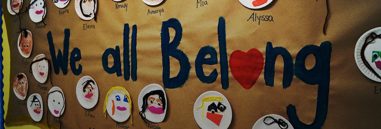 We all Belong poster