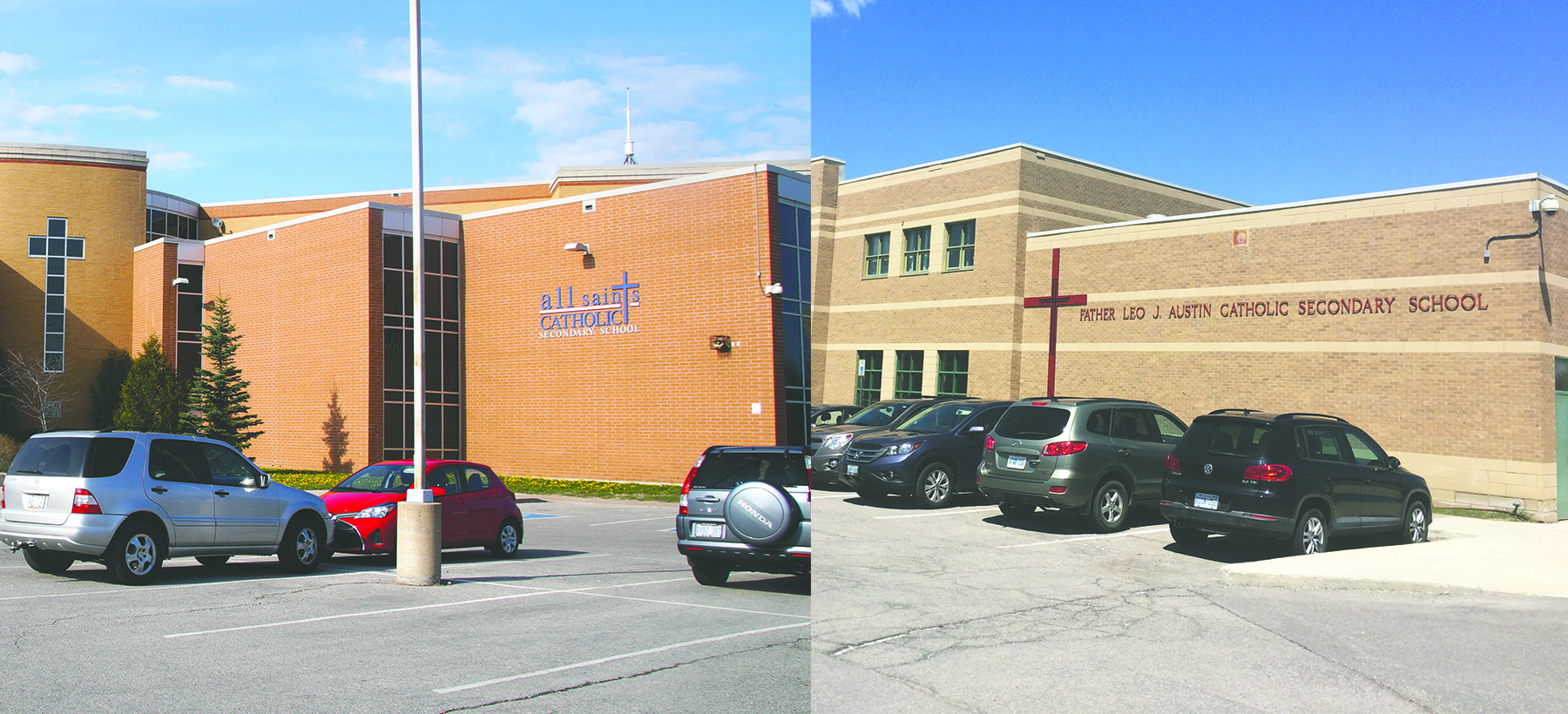 Two Whitby Catholic High Schools