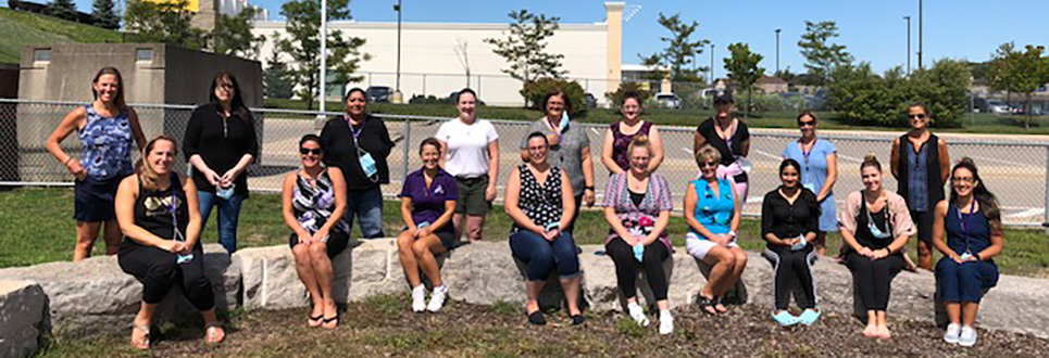 Staff of St. Andre Bessette Catholic School