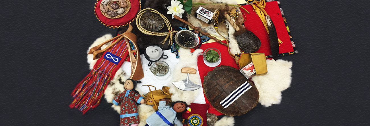 First nations ceremonial items